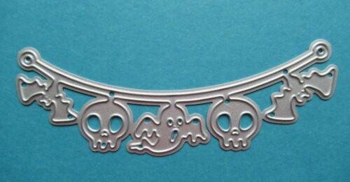 New de Halloween Banderines De Calavera Fantasma Murciélago Metal Craft Corte muere Libre P/&P desde el Reino Unido
