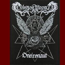 CRIMSON MOON - ONEIRONAUT SIGIL Sew On Patch - Occult Black Metal Blackmetal NEW
