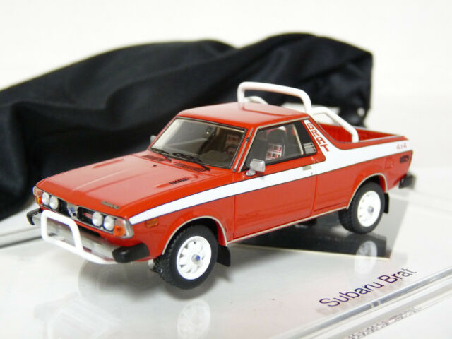 DNA DNA000011 1/43 1978 Subaru Brat Pickup 4x4 Resin Model Car