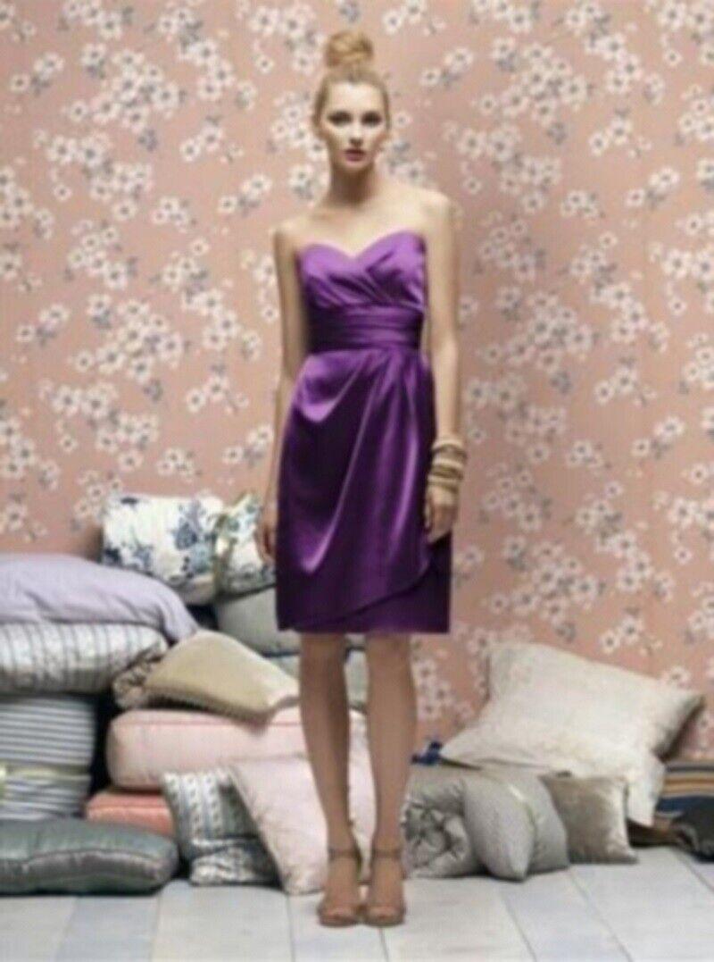 Lela Rose Bridesmaid Dress LR 168.....African Violet...Size 16