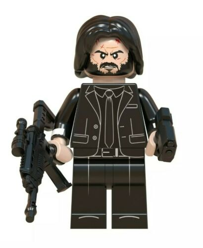 New /& Sealed UK Seller Action Figure John Wick Minifigure Lego Compatible