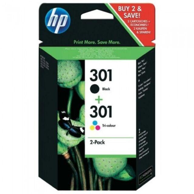 HP N9J72AE  MULTIPACK,.- 301 NERO + COLORE ORIGINAL