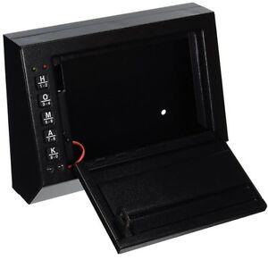 Car Gun Safe Auto Vehicle Electronic Locking Programmable Vault