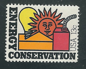 Image Is Loading Scott 1723 13 Cent Energy Conservation 25 Stamps