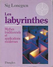 Livre: Sig Lonegren: les labyrinthes. dangles. E