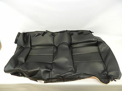 New OEM 2005-2009 Ford Mustang Rear Seat Back Cover Black Leather 5R3Z6363804BAF