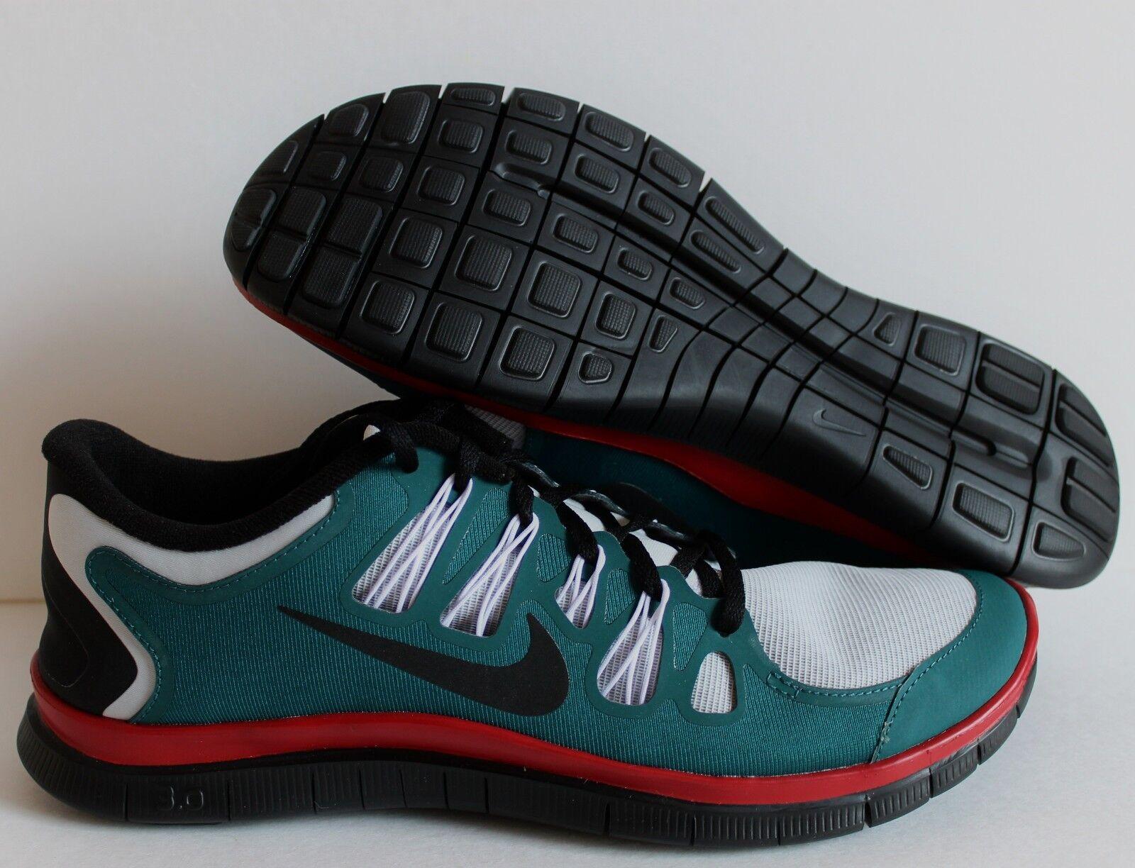 Nike Hombres Free 3.0 Verde-red-Negro 11,5 SZ 11,5 Verde-red-Negro 486045