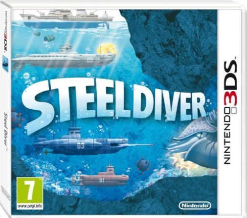 3DS-Steel Diver /3DS  GAME NEUF