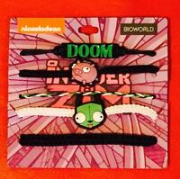 Invader Zim Doom Punk Gothic Alien Piggy Nickelodeon Arm Party Bracelet Set