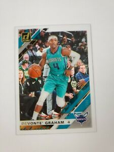 2019/20 Panini Clearly Donruss Devonte' Graham Acetate Gold Parallel
