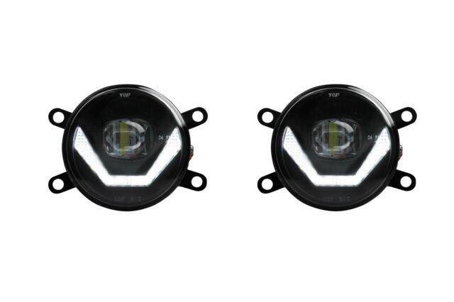 2 x LED Nebelscheinwerfer Tagfahrlicht Black Cree Chip für Ford