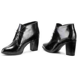 in Alexa Uk New alla Clarks 5d nera Kadri caviglia 6 pelle cinturino con formato pUptqwEa