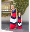 Kids-Parent-Outfit-Mother-Daughter-Dress-Family-Girls-Women-039-s-Party-Maxi-Dresses