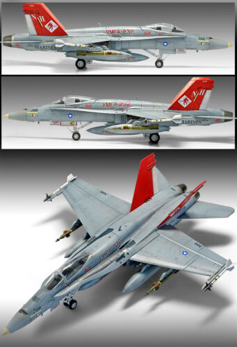 VMFA-232 RED DEVILS #12520 ACADEMY 1//72 USMC F//A-18A