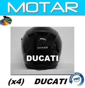 Ducati-casque-moto-autocollants-Stickers-adhesifs