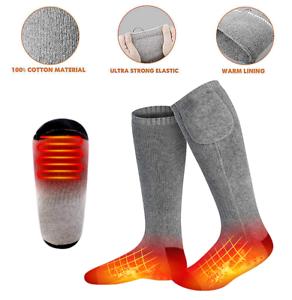 Electric Heated Socks Warm Thermal Men /& Women Winter Sport Foot Battery Outdoor