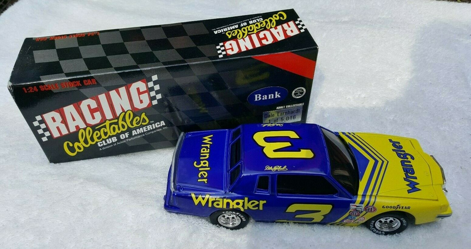 1995 Racing Collectables Dale Earnhardt  3 1981 Pontiac BWB Wrangler 1 24 Scale