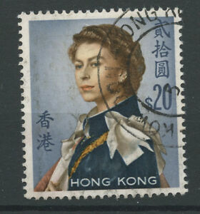 Hong Kong SG210 1962 definitive $20 used