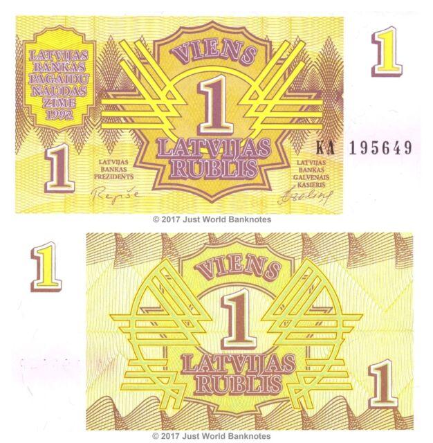 1;2;5 Rubli SET Picks 35-36-37 1992 Latvia UNC /> First Ex-USSR /> pre-Euro