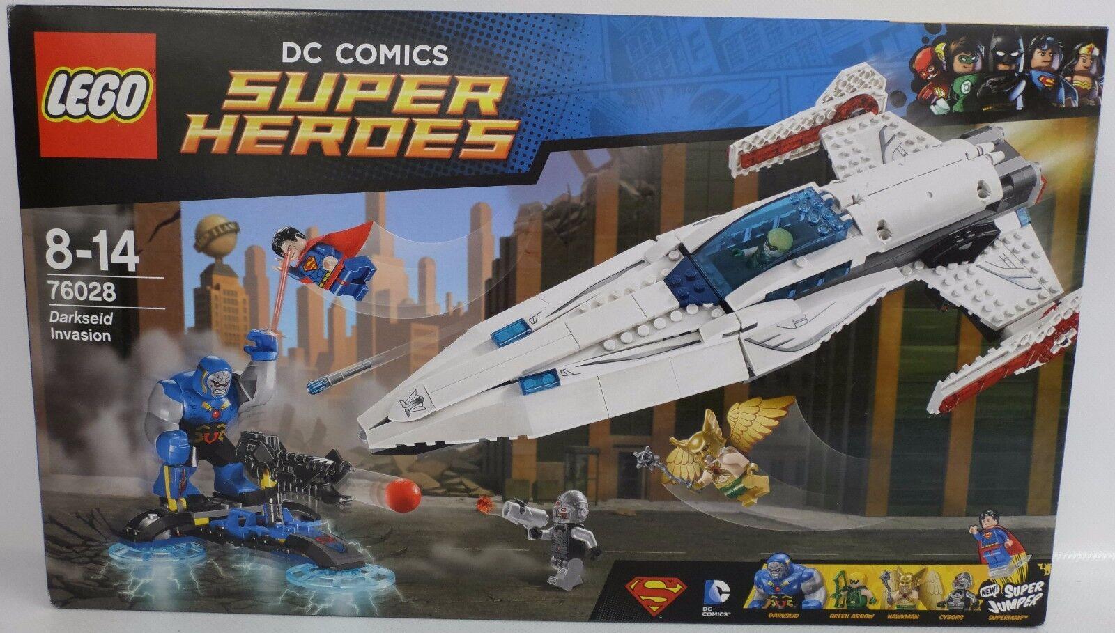 NEU LEGO® Super Heroes 76028 Darkseids Überfall / Darkseid Invasion OVP