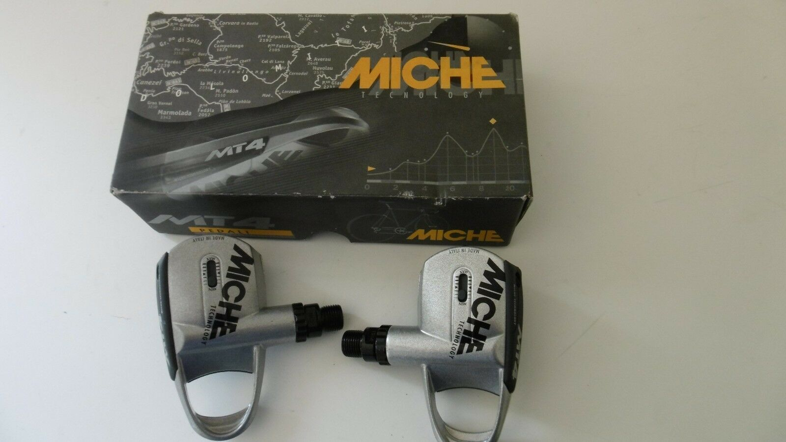 Miche  MT4 Pedals Made In  New In box  online at best price