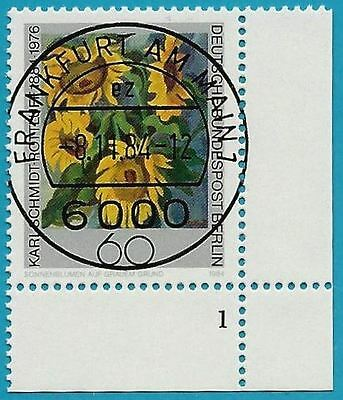 Buy One Give One Roltluff-gemälde Berlin Aus 1984 Gestempelt Minr.728 Ecke Unten Rechts