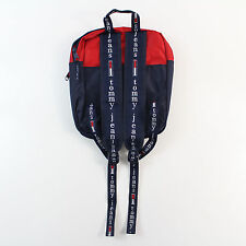 Tommy Hilfiger Backpack Bookbag Big Logo TOMMY GIRL Vintage 90's Spellout
