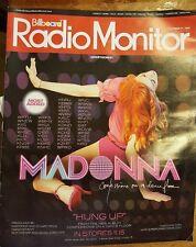 MADONNA Billboard Radio Monitor Magazine 10/05 CONFESSIONS ON A DANCE FLOOR PC