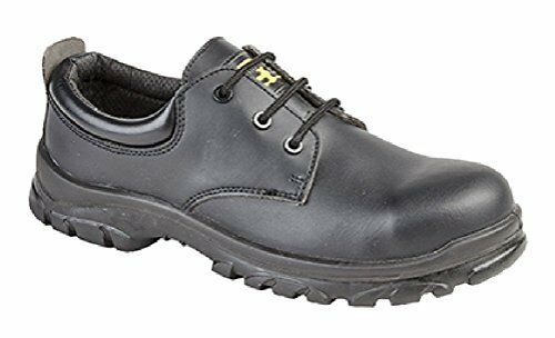 men women fully composite non-metal safety toe & midsole leather shoe size 4-14