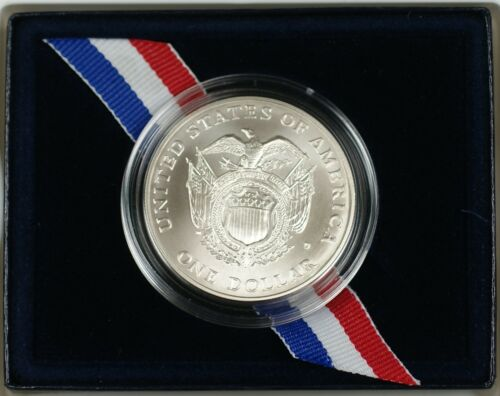 Capital Bicentennial Commemorative UNC Silver Dollar $1 Coin as Issued 1994 U.S