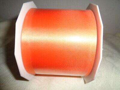 Schleifenband Geschenkband Dekoband Satinband Magma Orange 12 mm 25 m