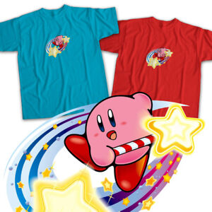 Nintendo-Kirby-Star-Rod-Super-Smash-Bros-Mens-Womens-Kids-Unisex-Tee-T-Shirt