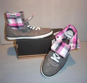 9e36fe0854a0 Converse Women s Chuck Taylor A S Charter Mid Fold Down Gray Shoes ...