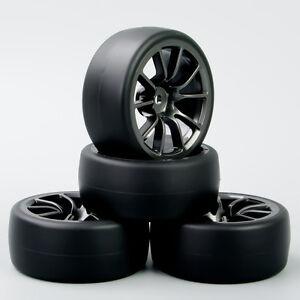 1-10-RC-Drift-Racing-Car-Neumaticos-neumaticos-de-velocidad-y-rueda-para-HPI-4PCS-C12M