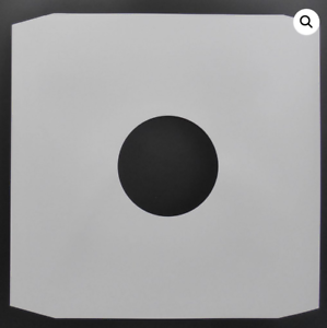 12-034-Inch-White-Paper-Vinyl-Record-Sleeves-Inner-Covers-90gsm-25-50-100-200-500