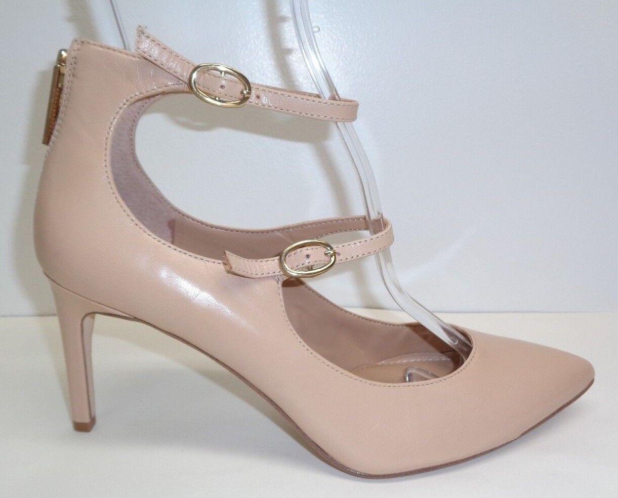 BCBG BCBGeneration Größe 7.5 M ZALUCA Beige Leder Heels Pumps NEU Damenschuhe Schuhes