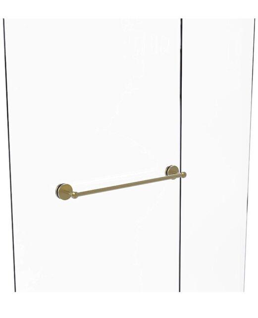 Satin Chrome Allied Brass PR-72//24-SCH Prestige Regal Collection 24 Inch Double Towel Bar