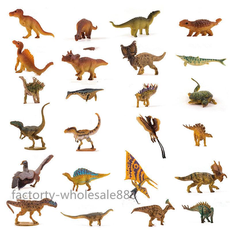 24pcs Pnso Ampelosaurus Kinder Dinosaur Figure Kids Education Museum Model Rare