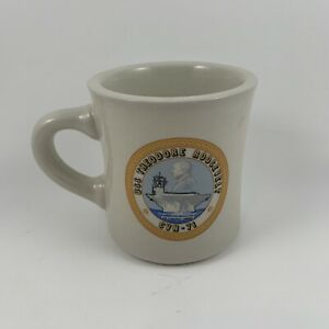 Vintage-USS-Theodore-Roosevelt-CVN-71-US-Navy-Military-Coffee-Mug-Made-in-USA