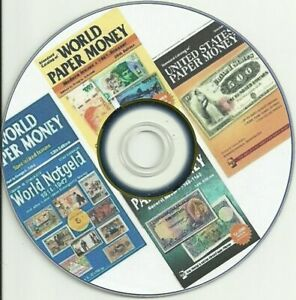 Notgel-Paper-Money-Catalog-Banknotes-from-1601-to-Present-on-DVD-5-Catalogs
