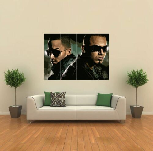 WISIN Y YANDEL MUSIC NEW GIANT LARGE ART PRINT POSTER PICTURE WALL X185