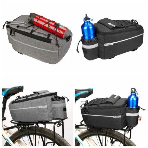 Bike Bicycle Cycling Rear Rack Seat Bag Trunk Saddle Tail Storage Pouch Bag