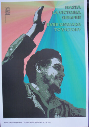 OSPAAAL Poster Che Guevara Day of Heroic Guerrilla Afiches Carteles LATIN AMERIC