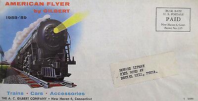 1959-60 American Flyer  //AC Gilbert Color Sales Brochure