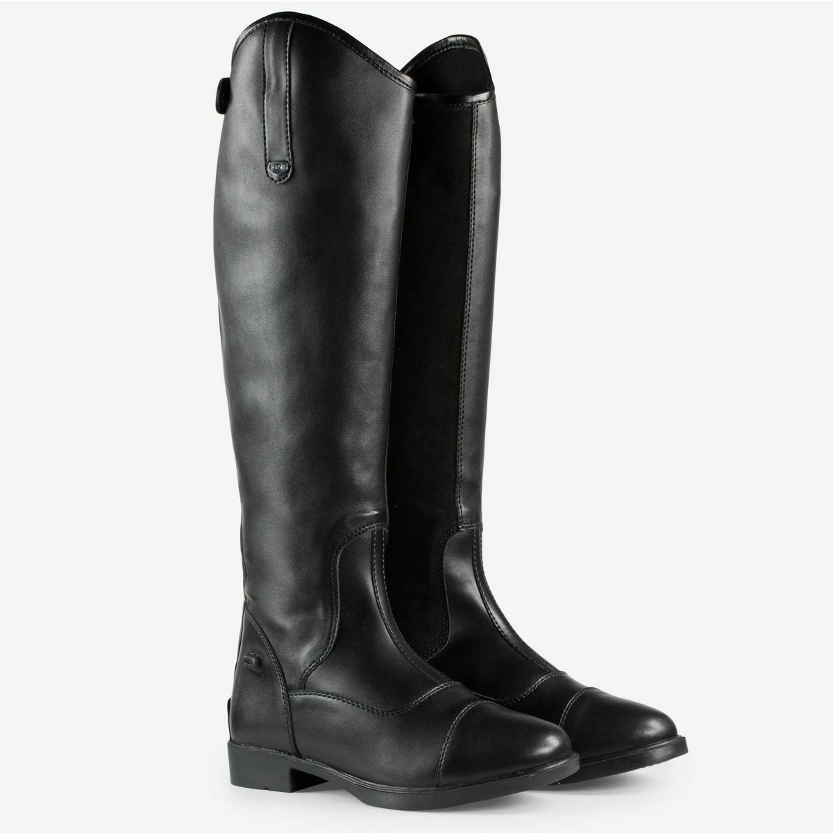 Horze Rover Synthetic Dressage  Tall Riding Boots with Rubber Sole  up to 50% off
