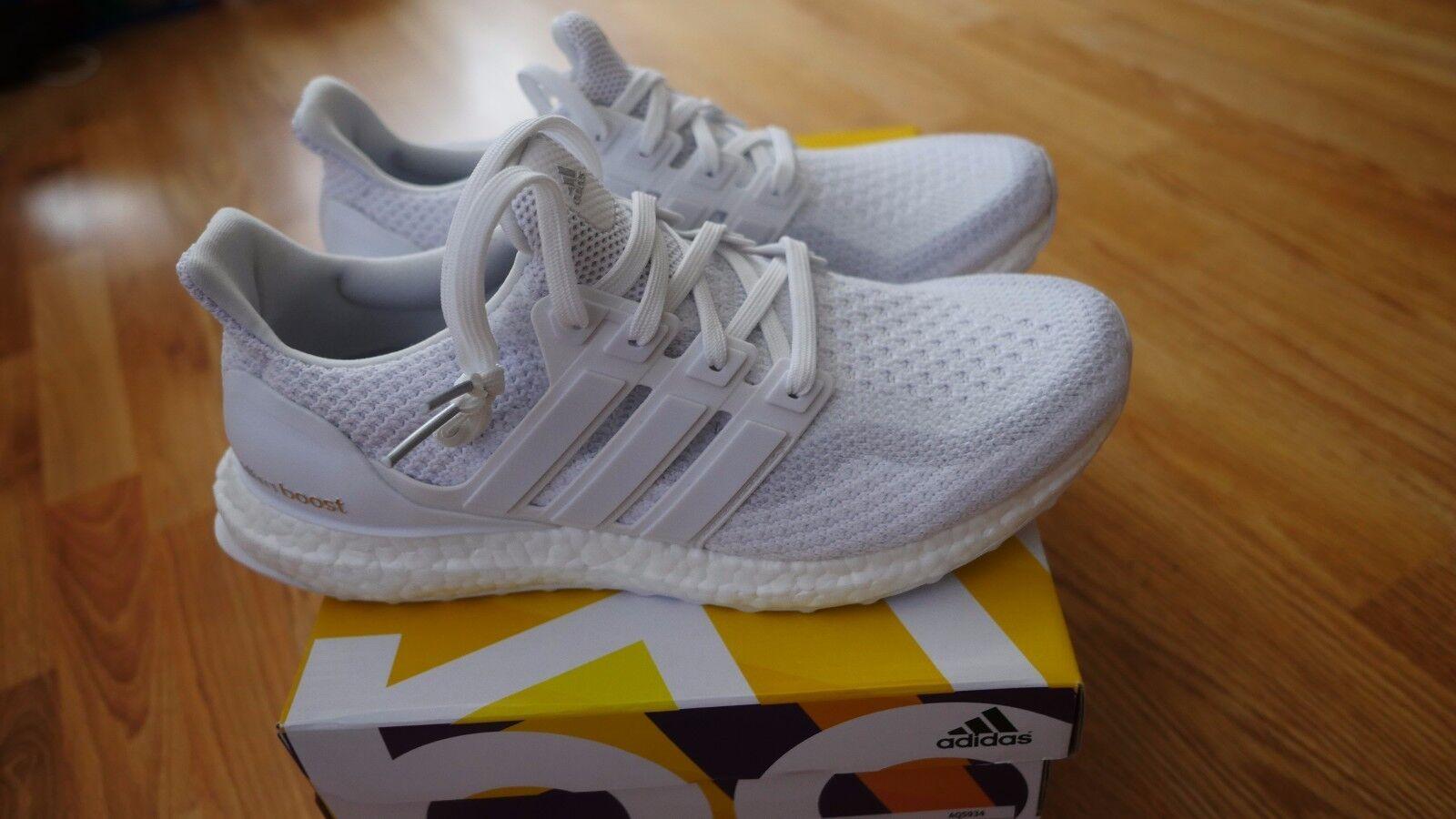 Adidas caged ultra boost 2.0 triple white woman size uk7.5 us9 eu41.5