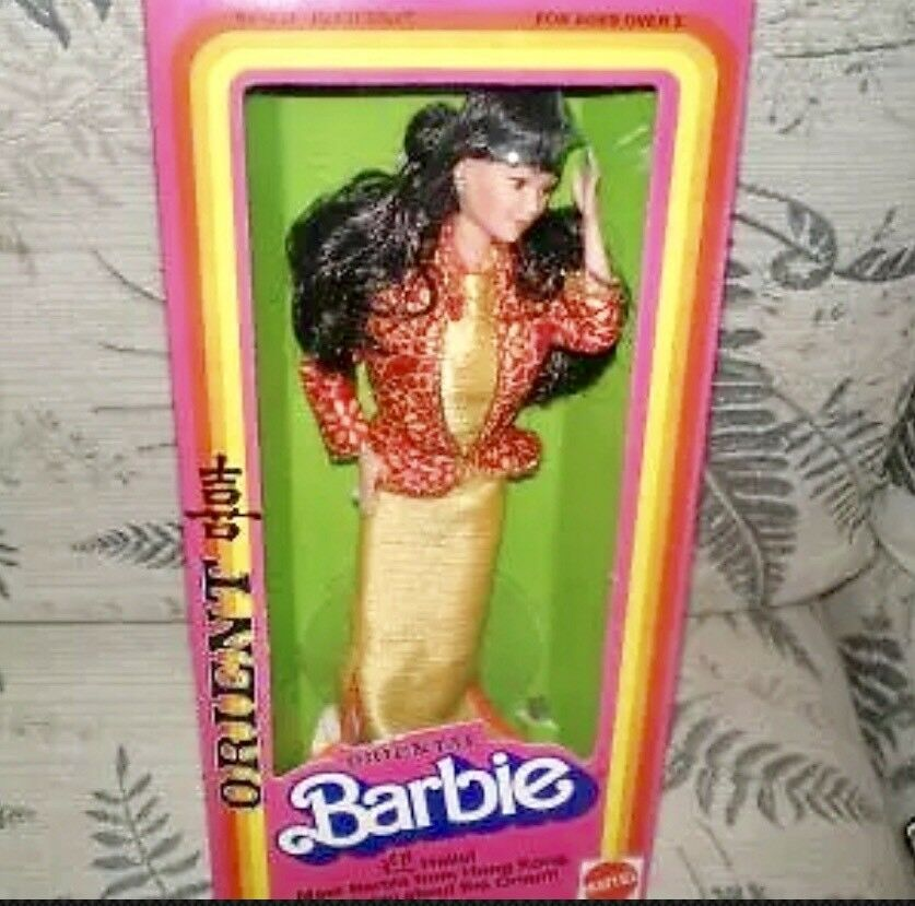 1980 Dotw Oriental Orient Muñeca Barbie En Caja