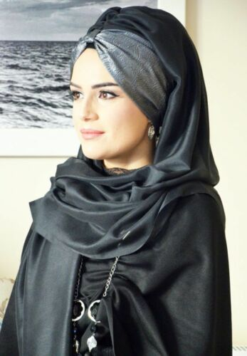 BD108 Fertig Kopftuch Hazir  Bandana Türban Esarp Sal Tesettür Hijab Khimar