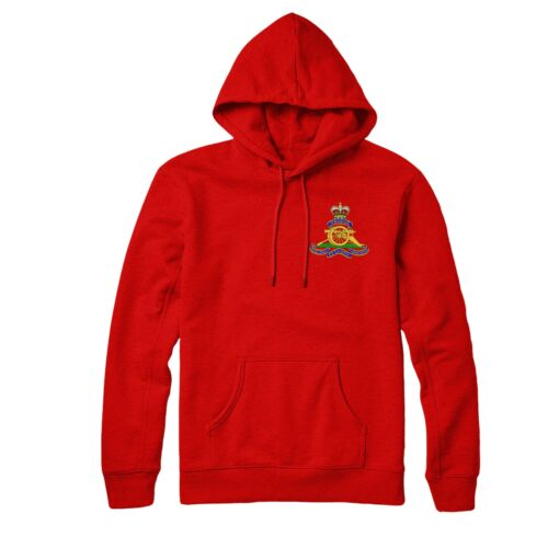 Royal Artillery Hoodie British Army Inspired Embroidered Hoodie Top