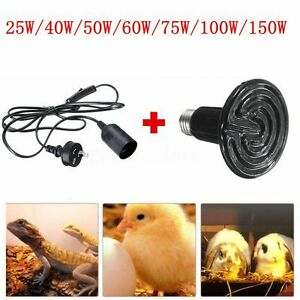 E27-Reptile-Chicken-Incubator-Infrared-Ceramic-Heat-Emitter-Lamp-Bulb-W-Holder